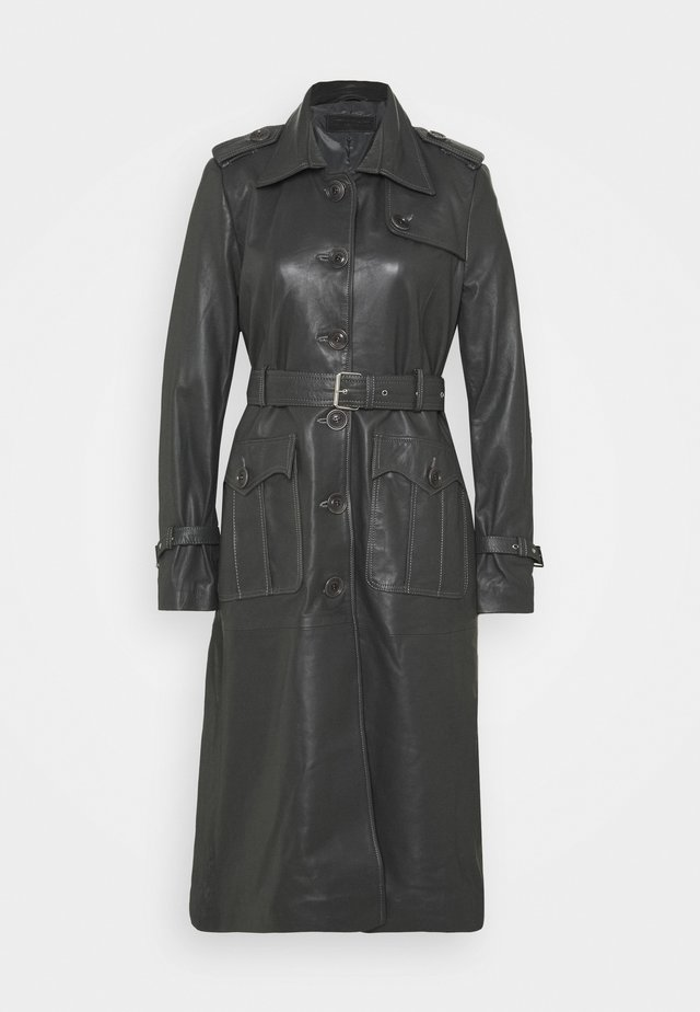JENNI LONG - Trenchcoat - dark grey