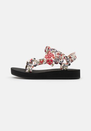 MAISIE - Sandály na platformě - white