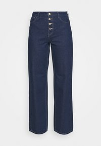 BLIFUTTON WIDE LEG - Flared Jeans - dark blue denim