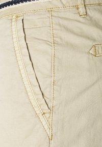 Esprit - SLIM - Trousers - cream beige - 2