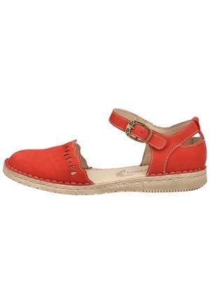 JOSEF SEIBEL SANDALEN - Sandals - red