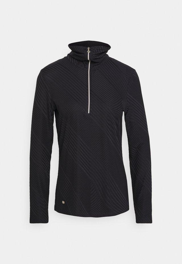 FLOY HALF NECK - T-shirt à manches longues - navy