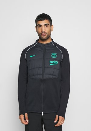 FC BARCELONA WINTERIZED - Klubtrøjer - black/new green