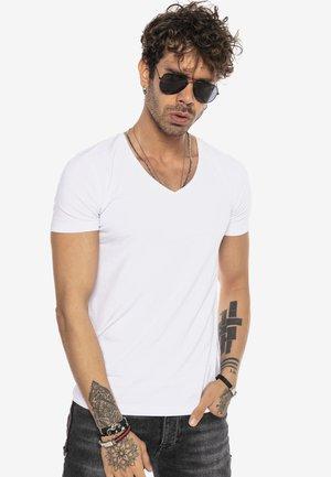 FULLERTON - Basic T-shirt - white