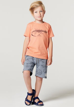 LATTONCOURT - Print T-shirt - shrimp
