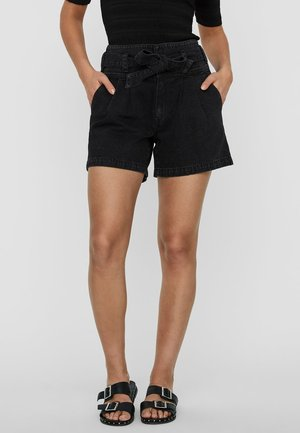 SHORTS JEANS - Shorts di jeans - black