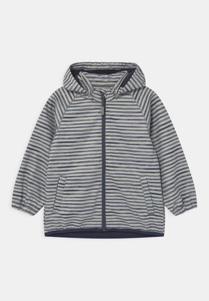 EDDIE UNISEX - Soft shell jacket - dark blue/off-white