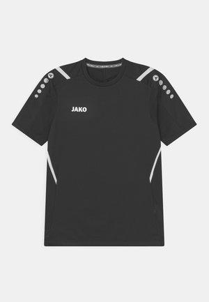 CHALLENGE UNISEX - Print T-shirt - schwarz/weiß