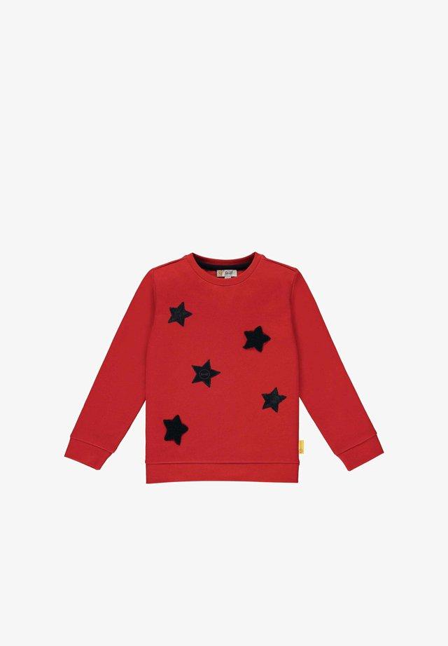 Sweater - tango red