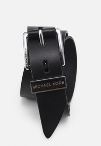 MICHAEL Michael Kors - BELT - Cinturón - black/silver-coloured - 3