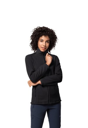 MIDNIGHT MOON - Fleece jacket - black