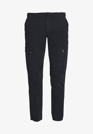 FLIGHT PANTS - Pantalones cargo - navy