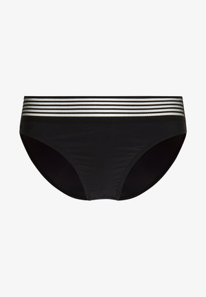 INFINITY HIGH LEG BRIEF - Bikiniunderdel - black