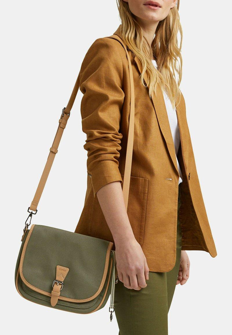 Esprit - SUSIE - Across body bag - olive