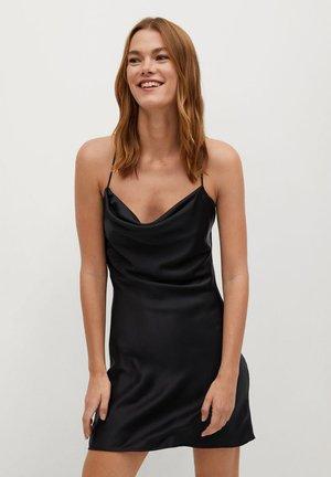 CORTITO - Korte jurk - schwarz