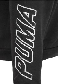 Puma - ALPHA - Zip-up hoodie - cotton black - 3