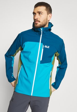EAGLE PEAK - Soft shell jacket - blue jewel