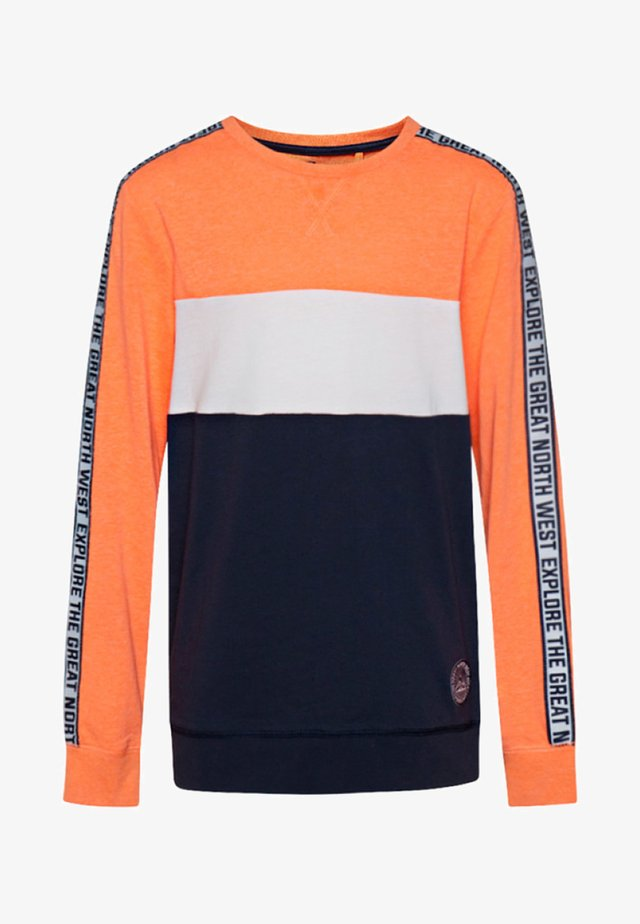 JONGENS  - Longsleeve - bright orange