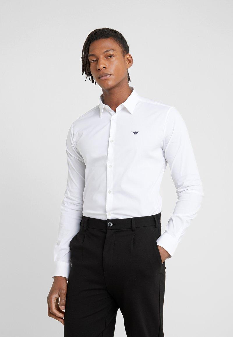 Emporio Armani - CAMICIA - Camisa - bianco ottico