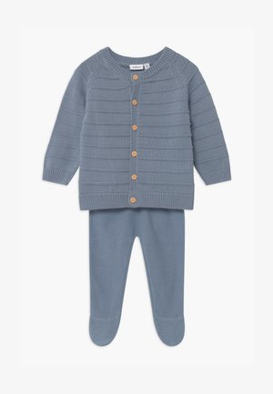 NBNNIVAN SET - Cardigan - ashley blue