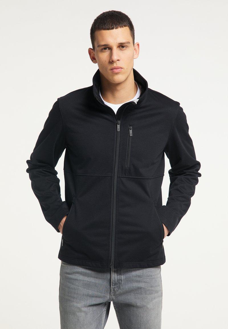 TUFFSKULL - Zip-up hoodie - schwarz