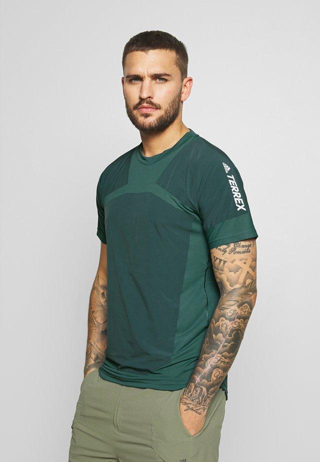 ZUPAHIKE TEE - Print T-shirt - legblu