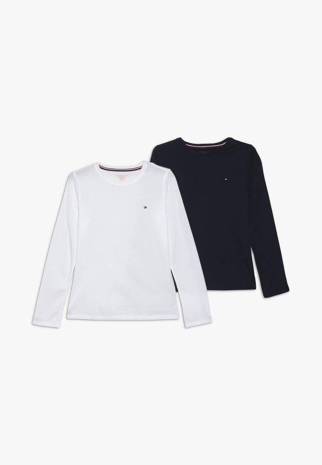 TEE 2 PACK - Aluspaita - white