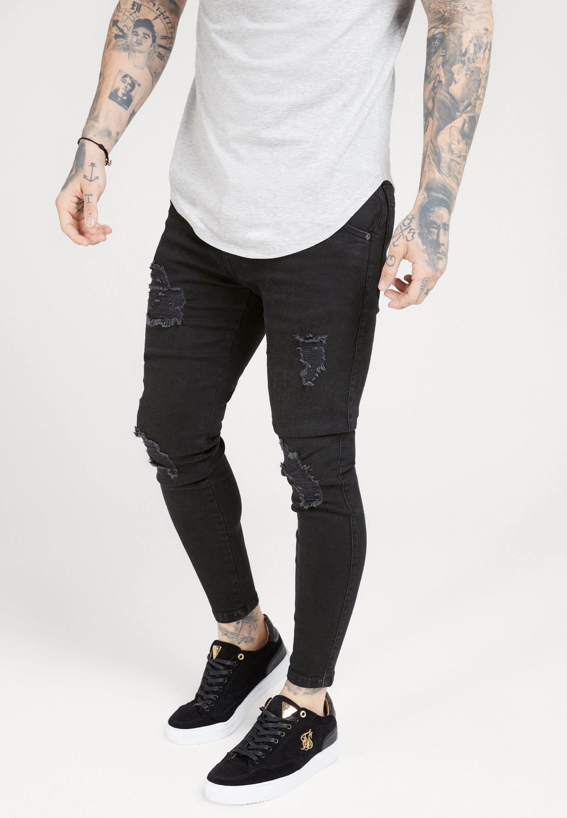 Herren DISTRESSED SUPER  - Jeans Skinny Fit