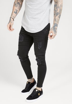 DISTRESSED SUPER  - Jeans Skinny Fit - black