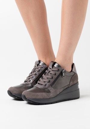 ZOSMA - Sneakers - dark grey/gun