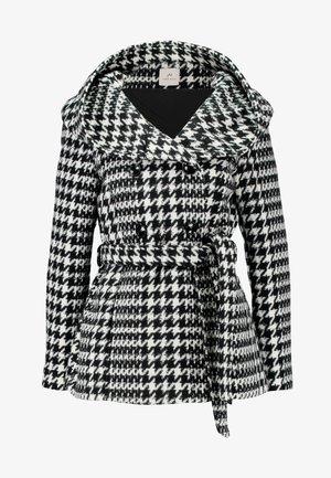 Classic coat - white/black