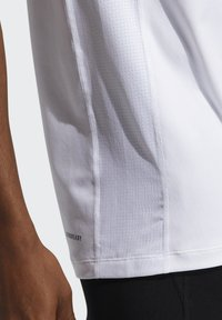 adidas Performance - TECHFIT COMPRESSION T-SHIRT - T-shirt - bas - white - 4