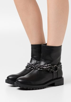 SKY - Cowboy/biker ankle boot - black