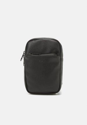 CHEST BAG UNISEX - Across body bag - black