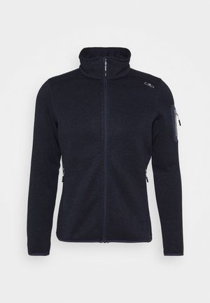 WOMAN JACKET - Fleece jacket - blue/grey