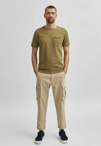 Selected Homme - Basic T-shirt - aloe - 1