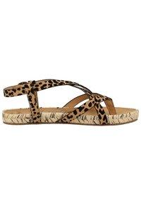 Blowfish Malibu - VEGAN GRANOLA - T-bar sandals - sahara leopard 336 - 5