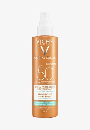 VICHY SONNENPFLEGE CAPITAL SOLEIL BEACH PROTECT SPRAY LSF50 - Sun protection - -