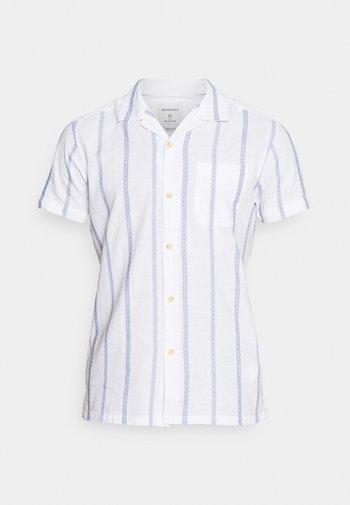 CUBAN DOBBY STRIPE - Shirt - white