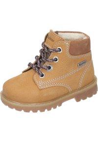 Richter - Lace-up ankle boots - curry/cognac - 1