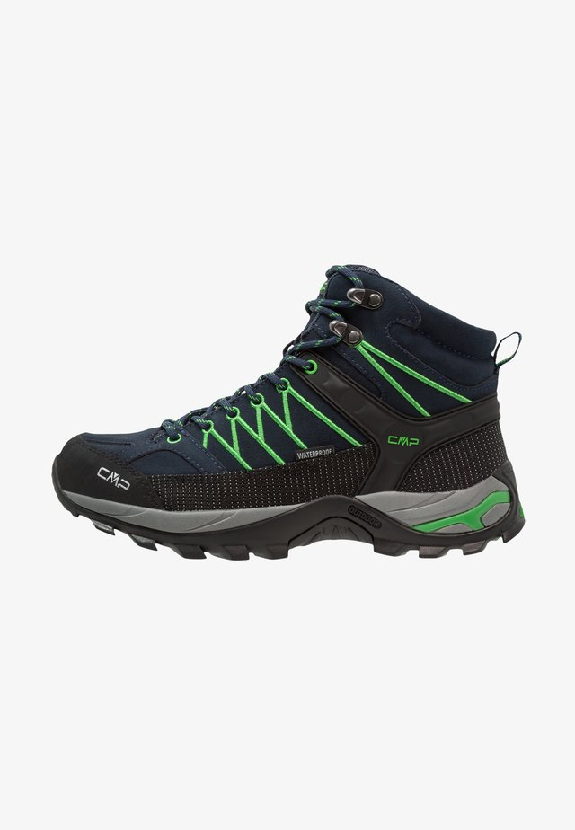 RIGEL MID TREKKING SHOES WP - Vaelluskengät - blue