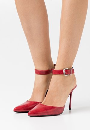 MISSY - Klassiske pumps - red