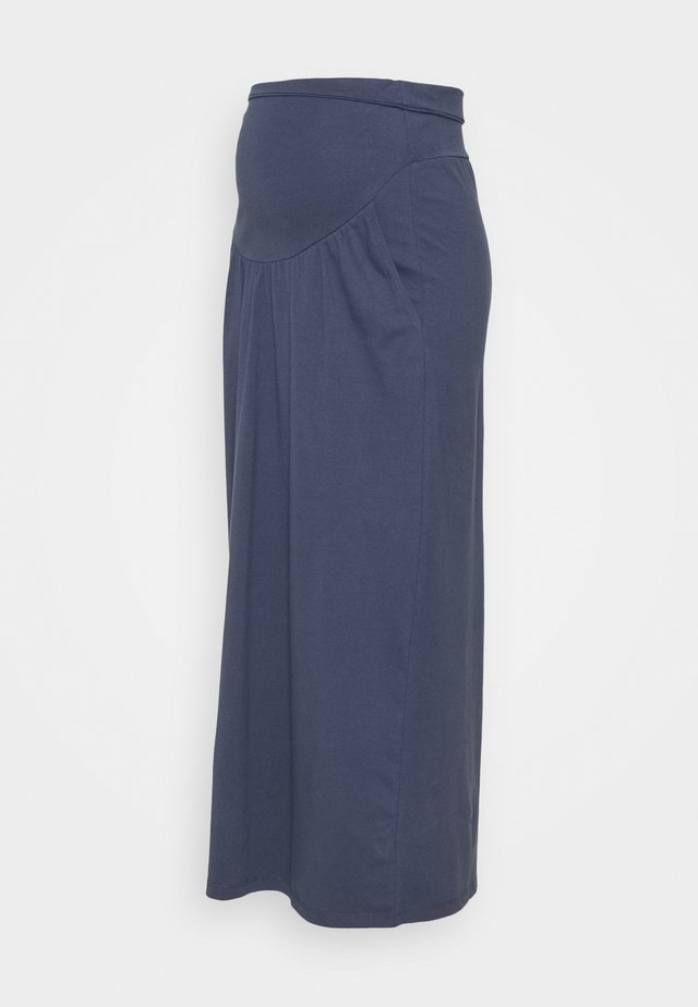 FAVOURITE SKIRT - Falda larga - indigo