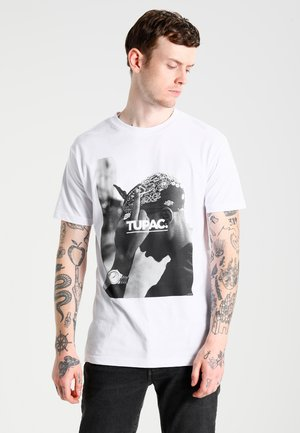 2PAC  - T-shirt con stampa - white