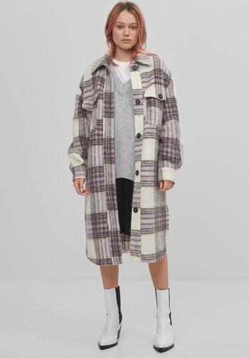 Klassisk frakke - mauve