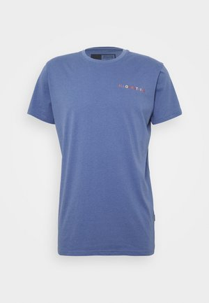 KOLBY - Print T-shirt - gray blue