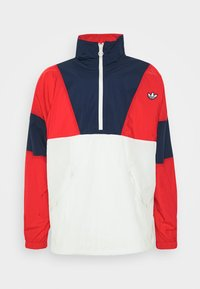 adidas Originals - SAMSTAG SPORT INSPIRED TRACKSUIT JACKET - Windbreaker - red/white - 4