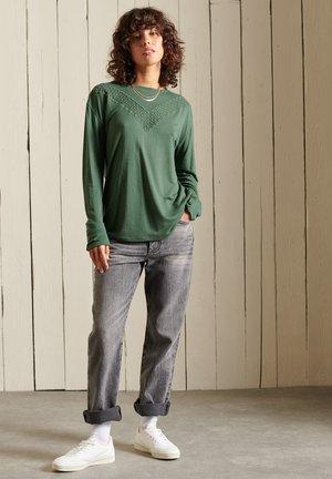 ROCK - Long sleeved top - jungle green