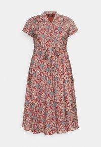 Lauren Ralph Lauren Woman - AMIT SHORT SLEEVE CASUAL DRESS - Day dress - red/multi - 3
