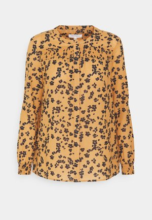 JEKYLL BLOUSE - Button-down blouse - mustard yellow